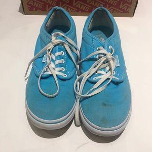 Vans Low Top Lace Up Shoes Women's Size 8.